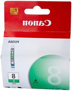 INK CARTRIDGE, CLI-8, GREEN, CANON Electronic Computer