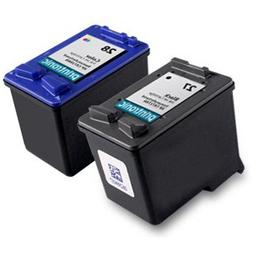 Remanufactured Ink Cartridge Replacement for HP 27 and HP 28