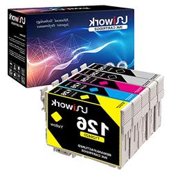 Uniwork Remanufactured Ink Cartridge Replacement for Epson 1