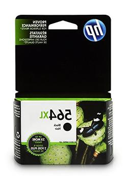 HP 564XL,  High Yield Black Original Ink Cartridge