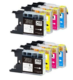 Ink Cartridges Value Pack for Brother LC75XL LC71 MFC-J835DW