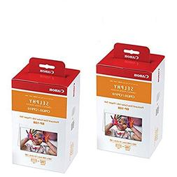 Canon Color Ink/Paper Set, Compatible with SELPHY CP910/CP82