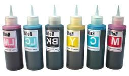 600ml Ink refill set for CIS CISS INK SYSTEM or refillable c