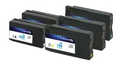 Dataproducts Remanufactured 5-Pack-Inkjet Cartridges for HP