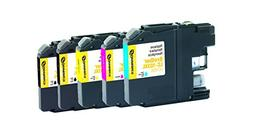 Dataproducts Remanufactured 5-Pack-Inkjet Cartridges for Bro