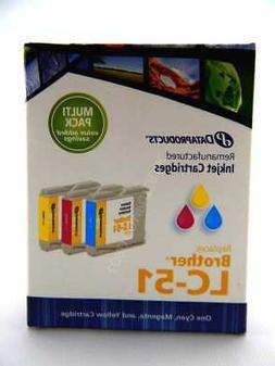 Dataproducts Inkjet Cartridges for Brother LC-51 Multi-Pack,