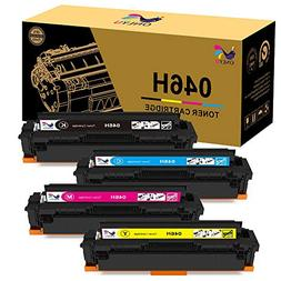 ONLYU KCMY High Yield 046H Toner Cartridges Replacement for