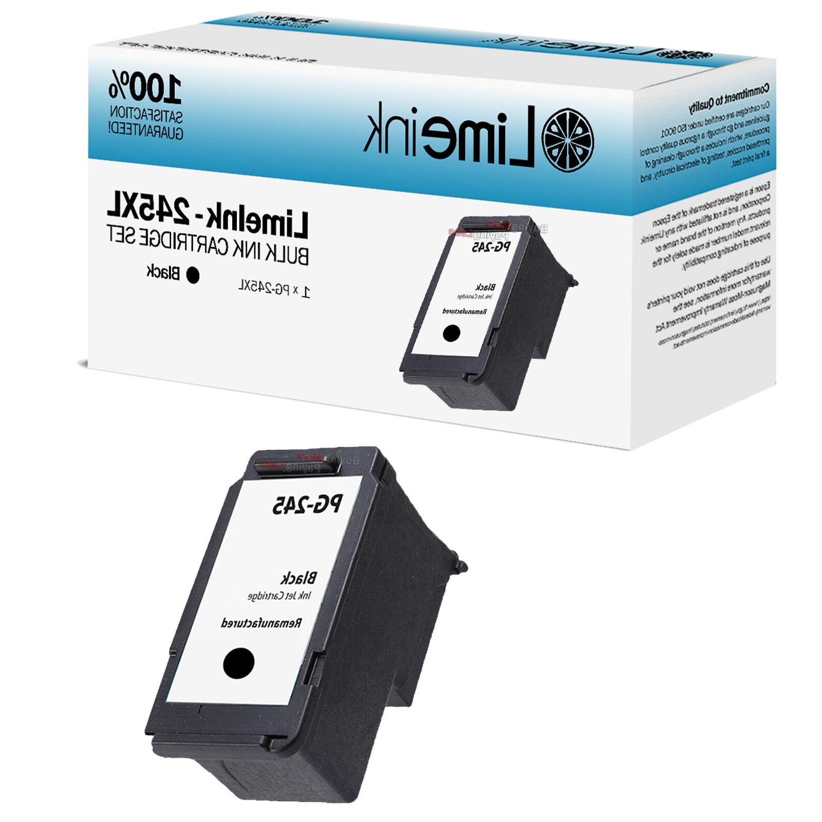 1 Black Ink Cartridges For Canon iP2820 MG2420