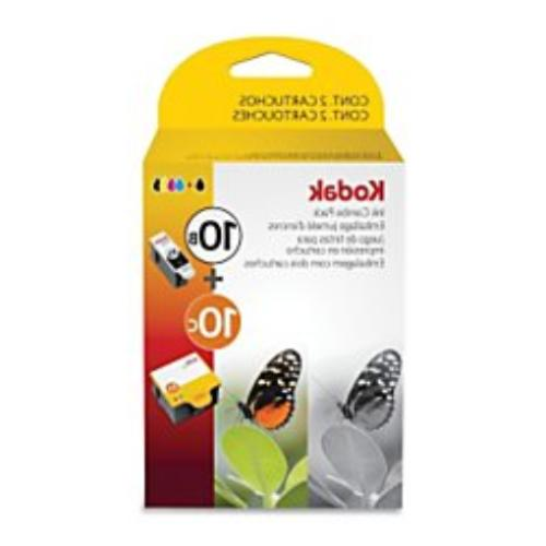 Kodak 10B/10C Combo Ink Cartridge - Black/Color - 1 Year Lim