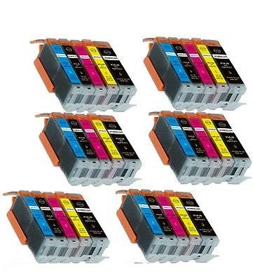 30 pack pk ink combo for canon