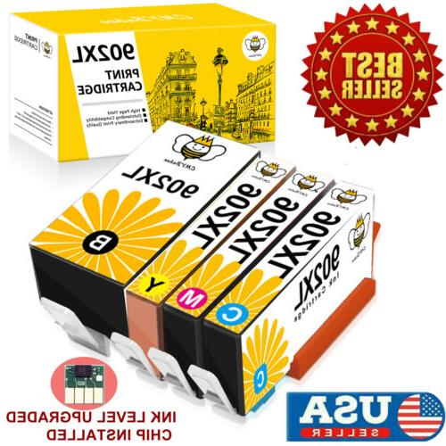 4 902xl ink cartridges for hp 902