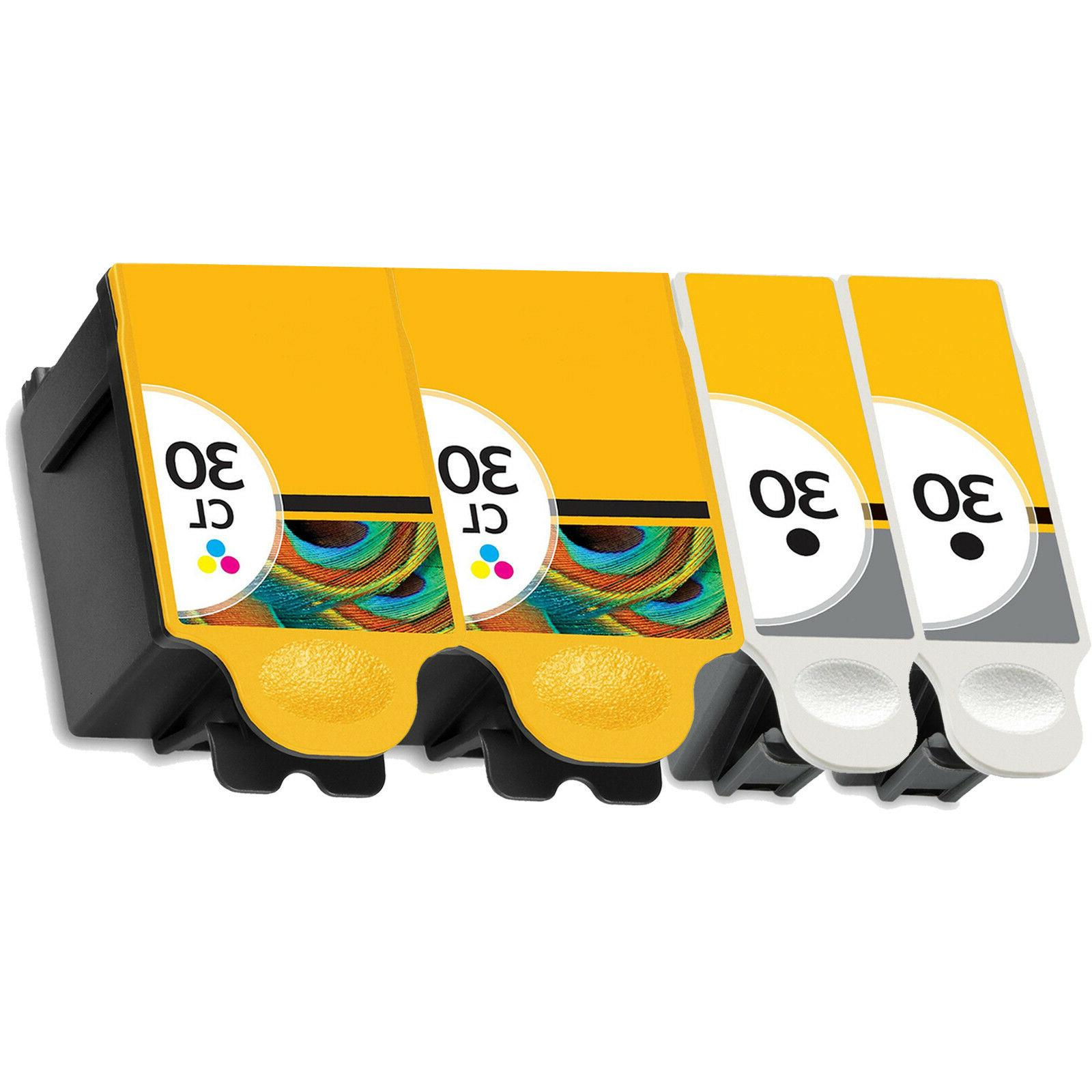 4 Pack For 30XL Cartridges Set 2170 5.1