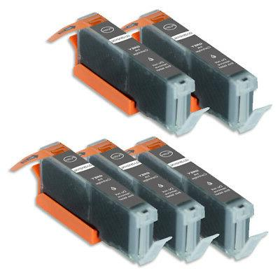 5 pk gray ink cartridges for canon