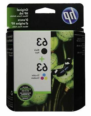 63 genuine black ink hp63
