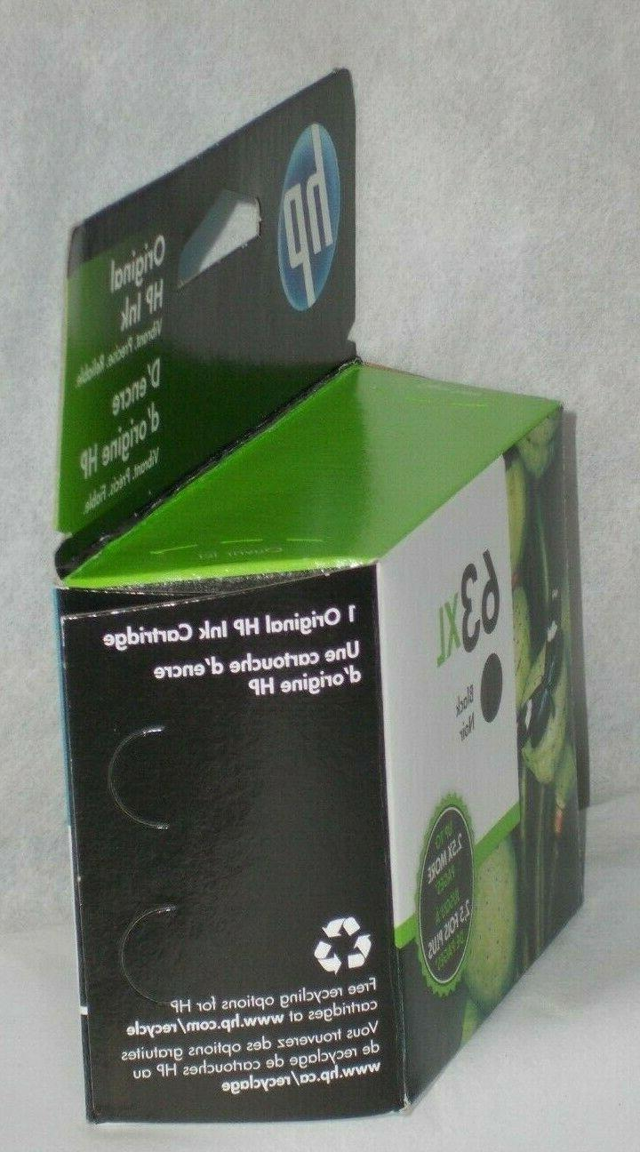 HP 63XL BLACK HIGH YIELD CARTRIDGE HP