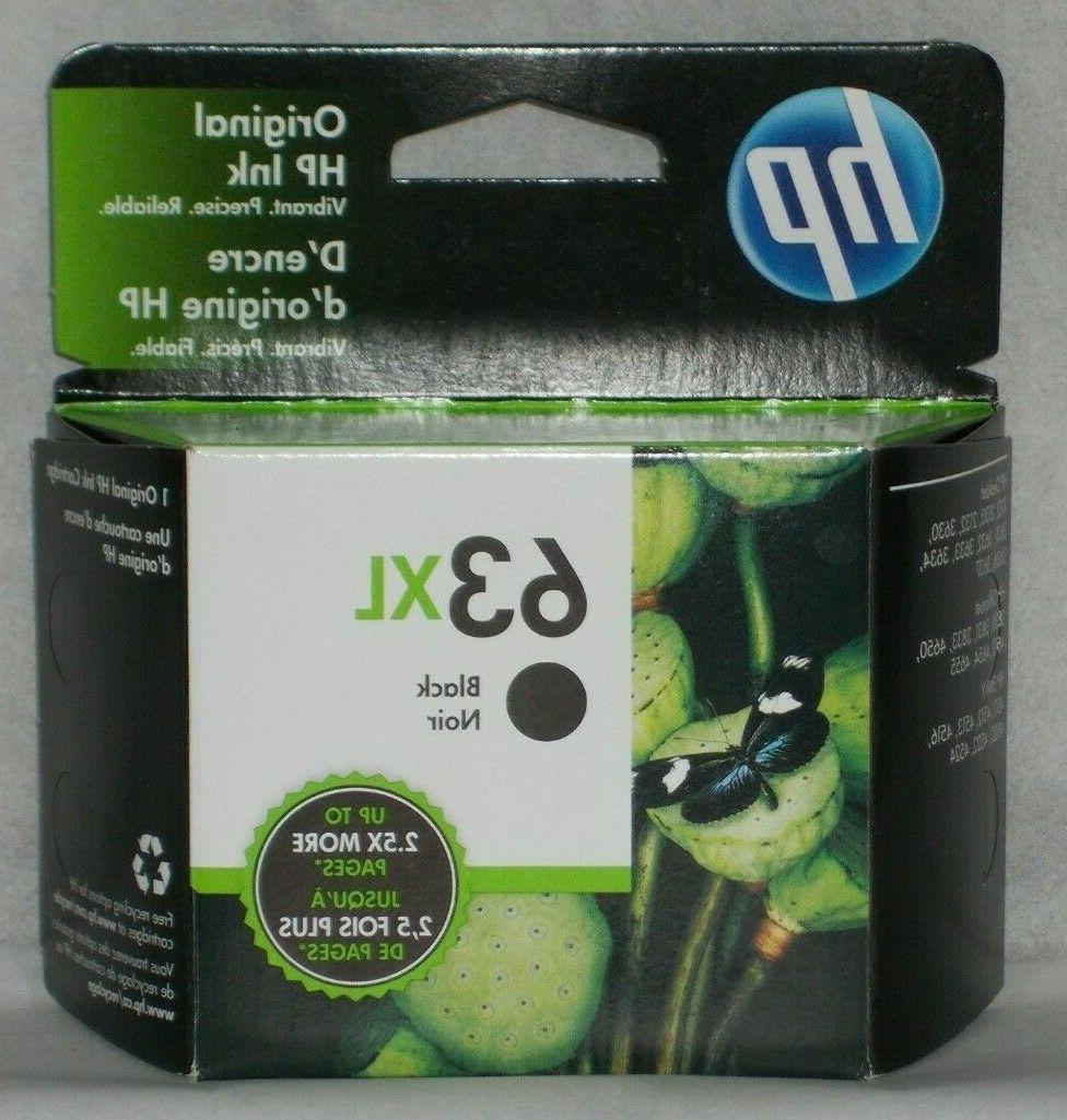 63xl black high yield original ink cartridge
