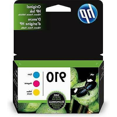 910 3 ink cartridges cyan magenta yellow