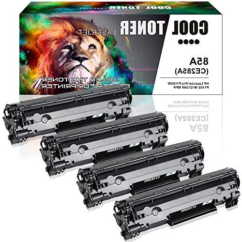 Cool Toner 4 Packs 85A Toner Compatible for HP 85A CE285A P1