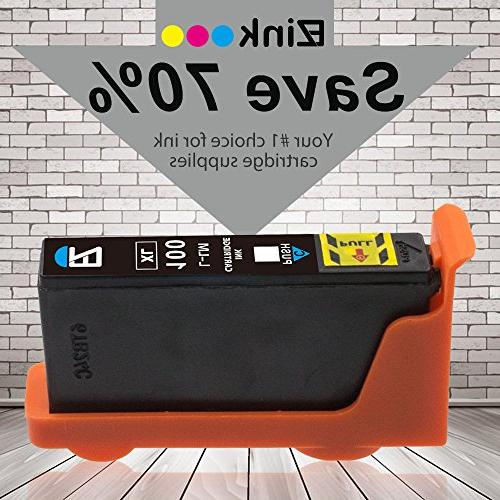 E-Z Ink Compatible Cartridge Replacement 100XL Impact S405 Interact S605 Prevail Platinum