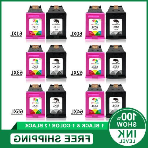 printer ink cartridge combo for hp 60xl