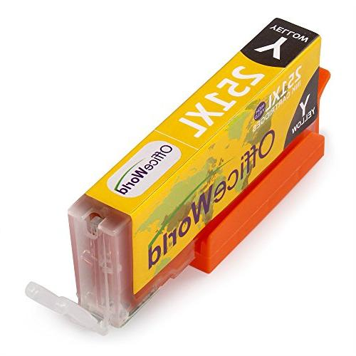 Office World Cartridge Replacement for Canon PGI-250XL with PIXMA MX922 MG7520 IP8720