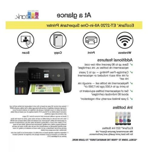 Epson All-In-One Supertank Color Printer -