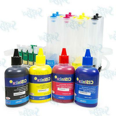 Empty Continuous Ink Supply System for Epson Artisan 725 730