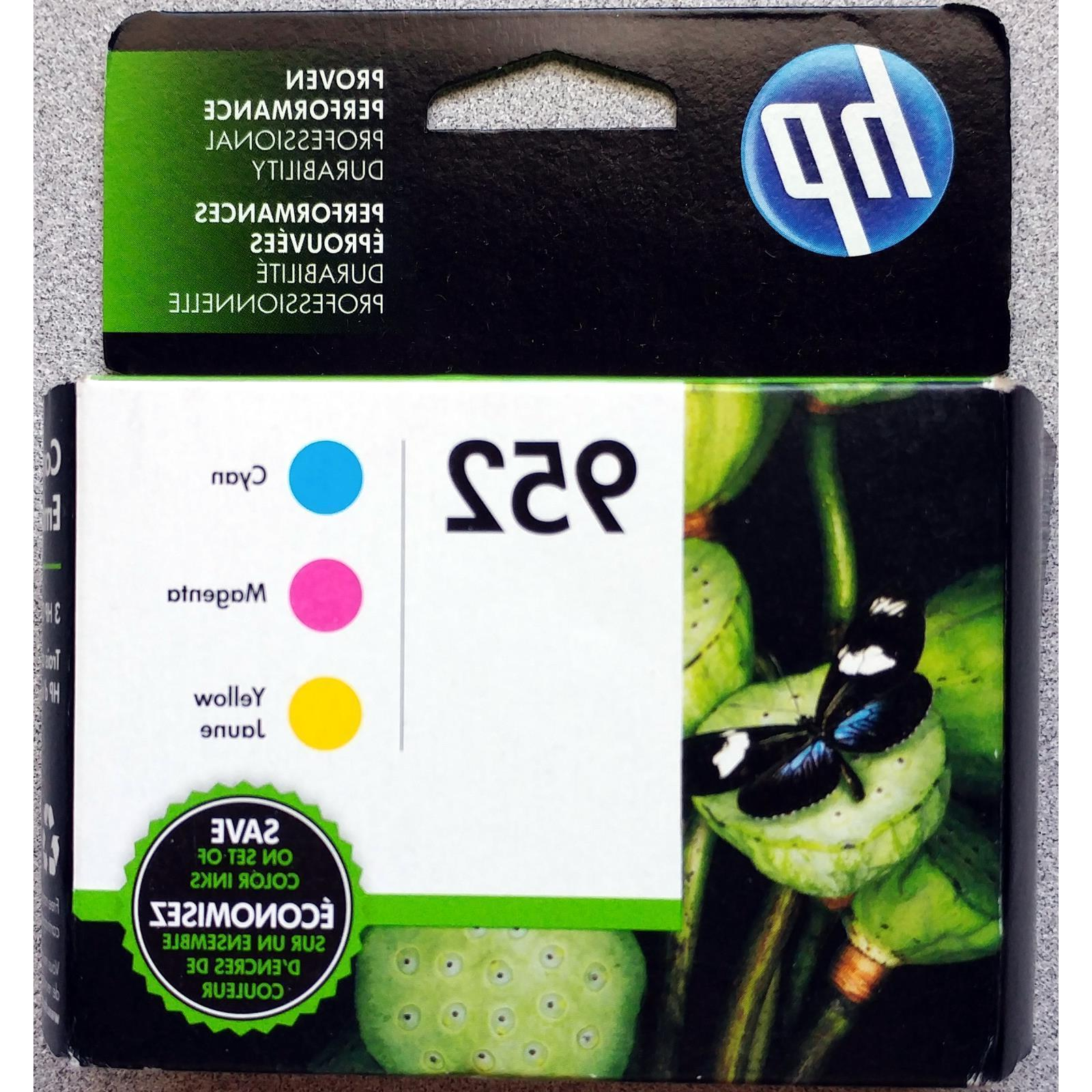 3-PACK HP 952 Color Ink for OFFICEJET PRO 8710 8720