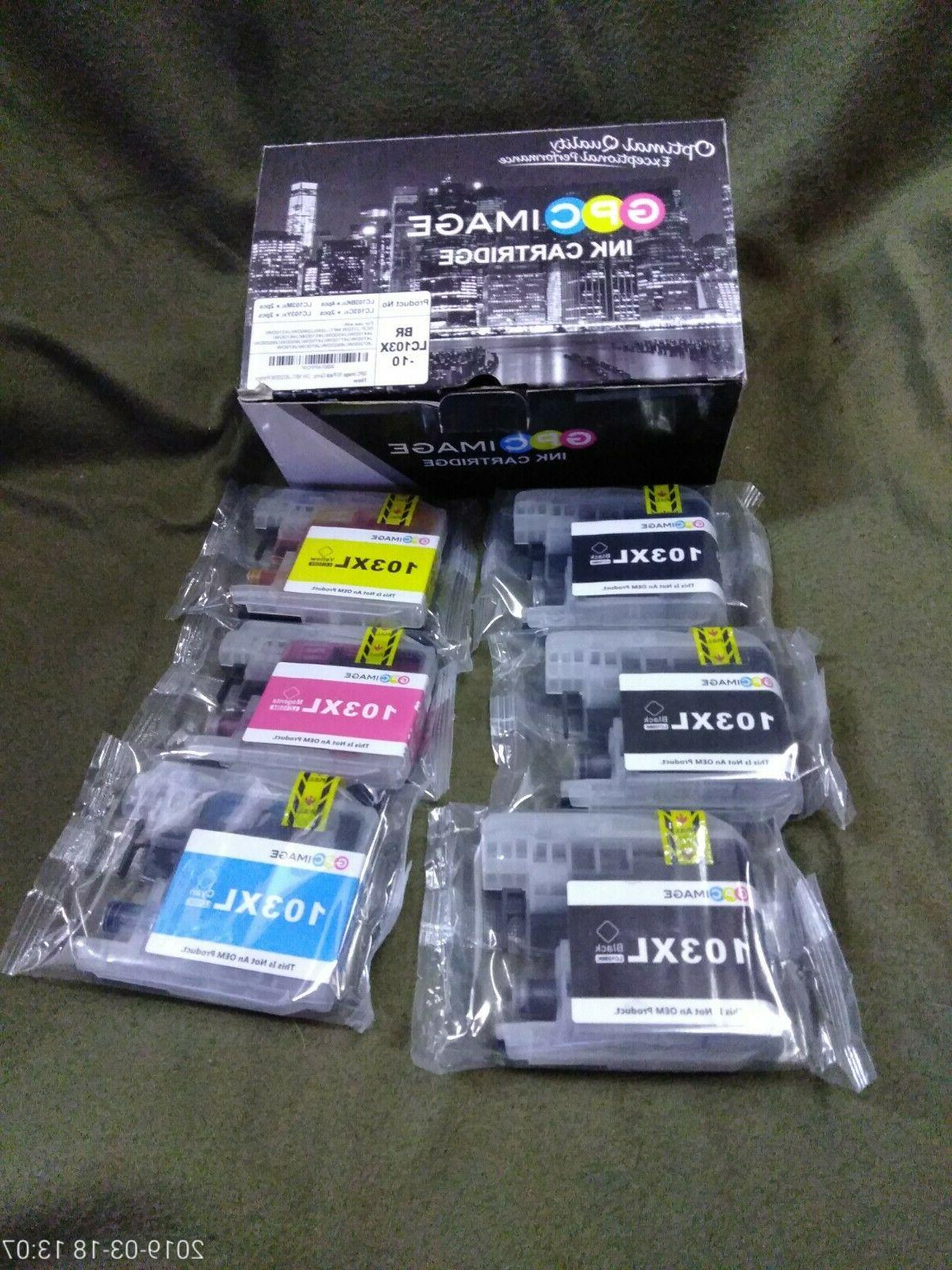 ink 6 pack cartridges brothers lc103xl 3