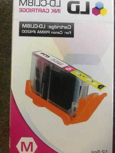 LD PRODUCTS, CANON COMPATIBLE CL18M MAGENTA INK CARTRIDGE. N