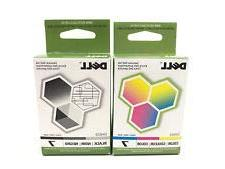 2 Pack Dell Series 7 Ink Cartridge Combo DH828 DH829  All-In