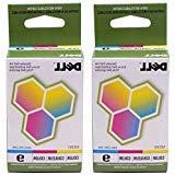 Dell Series 9 Color Standard Ink Cartridge - 2 Pack