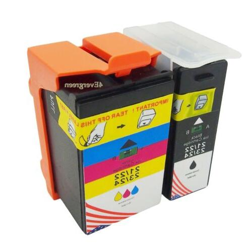 HP 62 2 Pack Black Tri-color Original Ink Cartridges 200 Bla