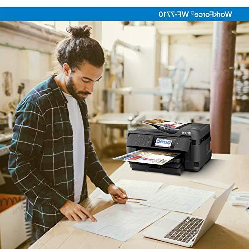 Workforce Wireless Wide-Format Color Copy, Fax, Dash Replenishment Enabled