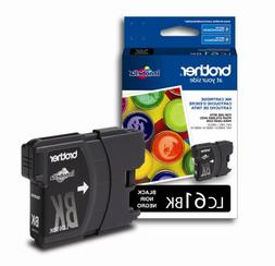 Brother LC61BK Ink Cartridge, 450 Page-Yield, Black