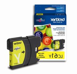 Brother LC61Y Ink Cartridge, 325 Page-Yield, Yellow