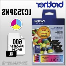 Brother LC753PKS Ink Cartridge - Cyan, Magenta, Yellow - Ink