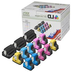 Remanufactured Bulk Set of 13 Replacement Ink Cartridges for