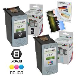 LD Remanufactured Ink Cartridge Replacement for Canon PG50 &