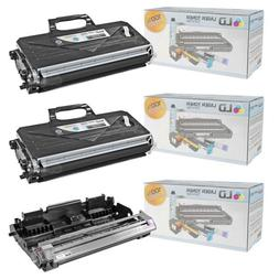 LD Compatible Brother TN360 Toner and DR360 Drum Combo Pack: