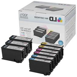 LD © Compatible Set of 9  Extra High Yield Ink Cartridg