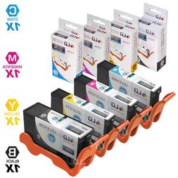 LD Compatible Lexmark 100XL / 100 Set of 4 High Yield Ink Ca