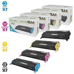 LD Remanufactured Toner Cartridge Replacements for HP 124A
