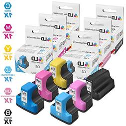 LD Remanufactured Ink Cartridge Replacements for HP 02