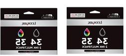 NEW Lexmark #34 & #35 Ink Combo 2pack  GENUINE New Sealed Bo