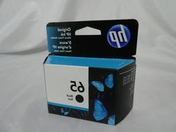 New HP 65 Black Ink Cartridge 65 N9K02AN Genuine