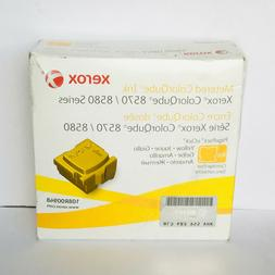 New Genuine Xerox 108R00948 4QT Yellow Ink Cartridges, Color