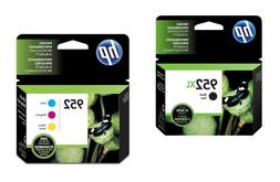**New** Genuine HP 952XL Black & 952 Color Ink Cartridges :