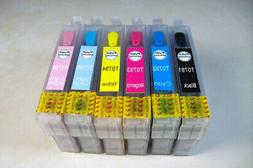 Non-OEM Refillable Cartridges Epson Artisan 1430 1400 1390 T