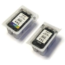 Canon PG-243 and CL-244 Bulk Packaging Black and Color Genui